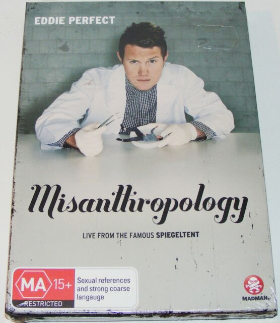 EDDIE PERFECT--Misanthropology---(New & Sealed Dvd)