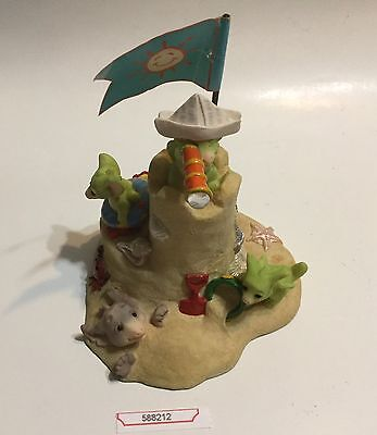 """The Whimsical World Of Pocket Dragons """"Seaside Castle"""" Limited Edition"""