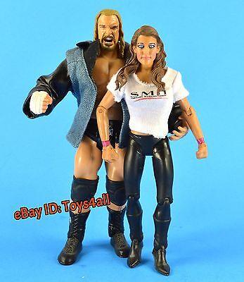 Triple H Stephanie Mcmahon Jakks Classic Superstars Wwe Figur Wwf Authority S102
