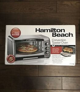Hamilton Beach Toaster Oven - Unboxed Brand New