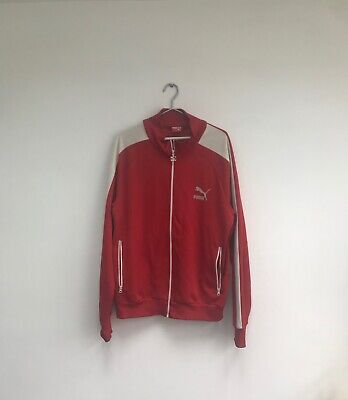 PUMA Vintage Tracksuit Top - Red - Mens XL