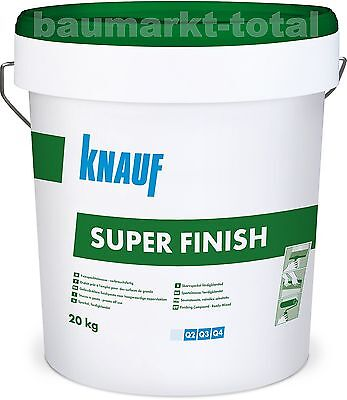 Knauf Super Finish 20kg Spachtelmasse  SHEETROCK Fertigspachtel Fugenspachtel