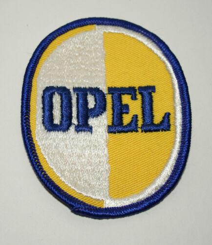 Vintage Opel Automotive Car Logo Cloth Jacket Hat Patch New NOS 1960s Cadet?