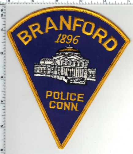Branford Police (Connecticut) Shoulder Patch - new from the 1980