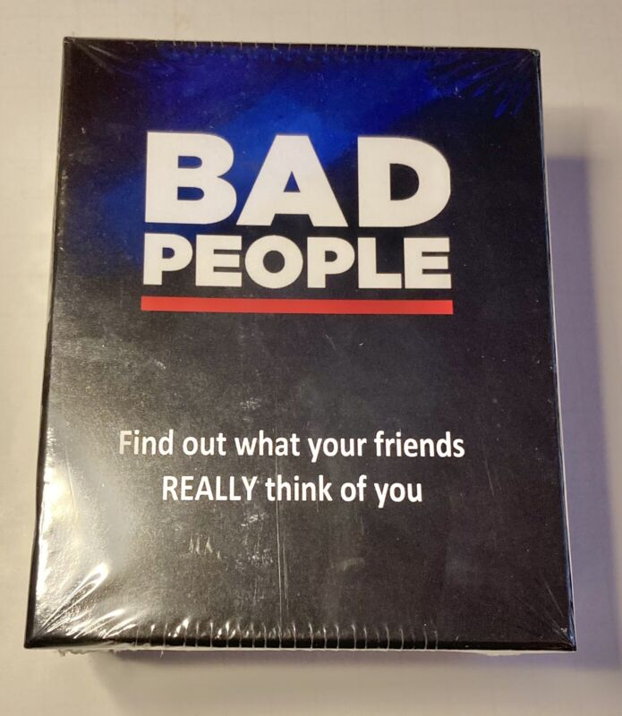 BAD PEOPLE - The Adult Party Game You Probably Shouldn