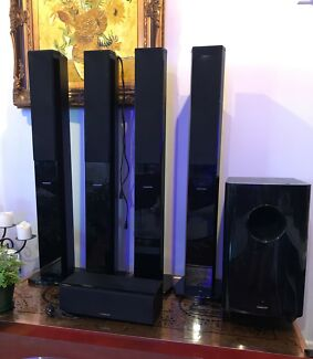 Accusound ES180 wireless 5.1 surround sound system  Worongary Gold Coast City Preview