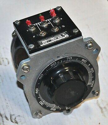 Powerstat Variablt Auto-transformer Model 116cu 0-140v Industrial Surplus Good