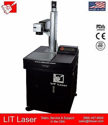 30w Q-switch 2.5d 3d Laser Engraving 1yr Warranty Sales Service Support Usa