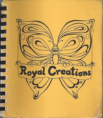 For sale NIWOT CO 1981 ROYAL CREATIONS ETHNIC COOK BOOK CHRISTIAN CENTER * COLORADO RARE