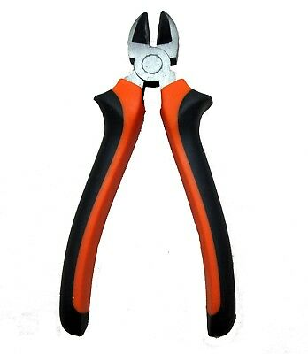 """New 6"""" 160mm Heavy Duty Wire Cutter Plier Soft Grip Cutter Orange - Black"""