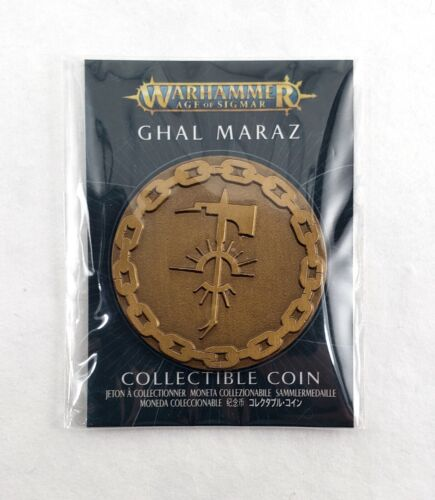 Ghal Maraz - Collectible Coin - Warhammer AoS - GW - NEW - Sealed - OOP