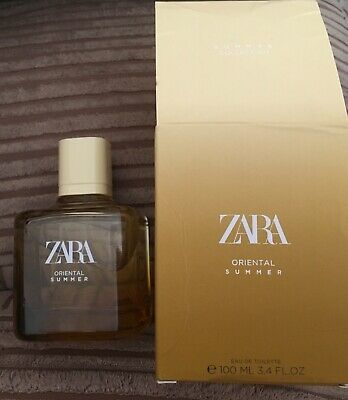 Zara Oriental Summer Edt spray Large 100ml Boxed