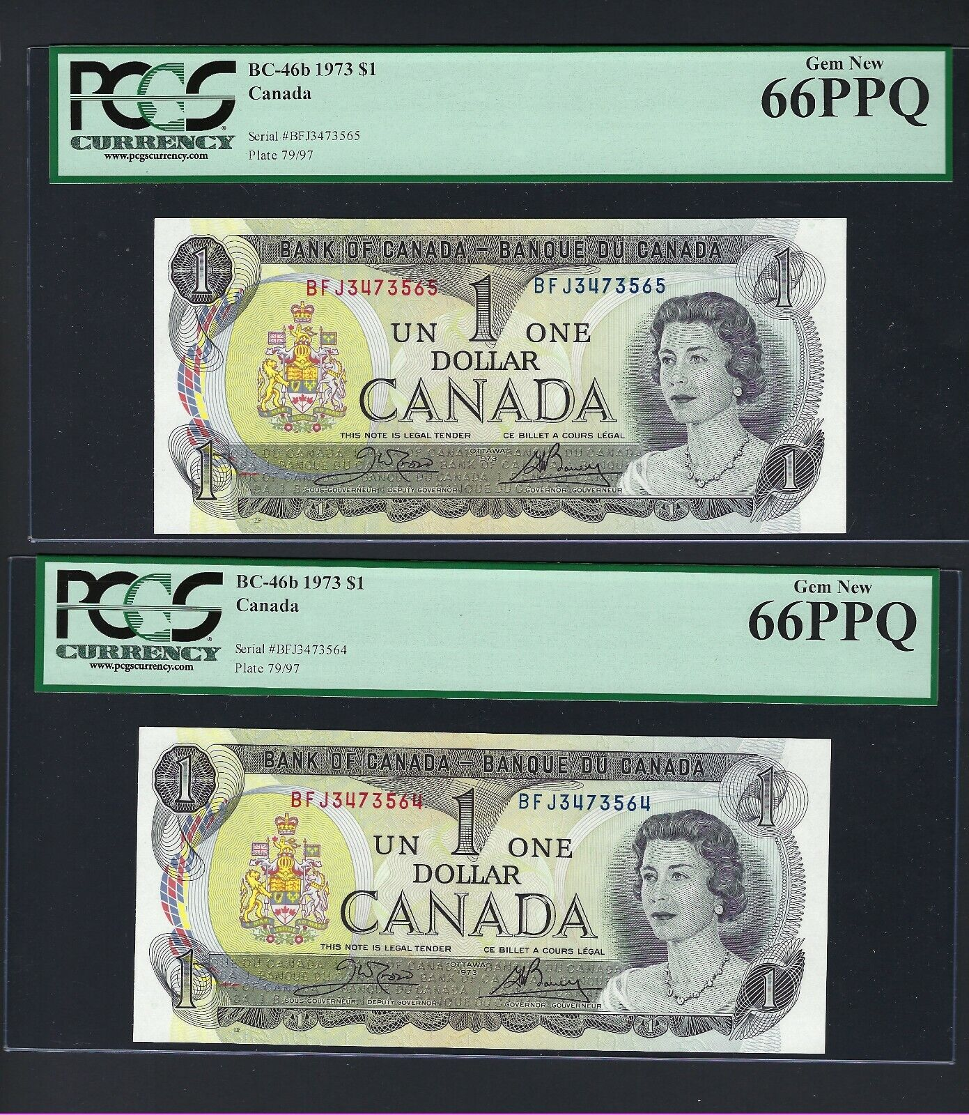 RECTO 1 Dollar Type 1973 - None