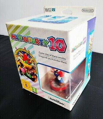 WII U MARIO PARTY 10 + AMIIBO LIMITED COLLECTOR´S EDITION NEW PAL...