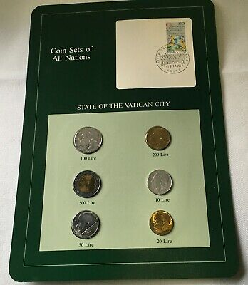 Coin Sets of All Nations Maldives w//card 1982-1984 UNC