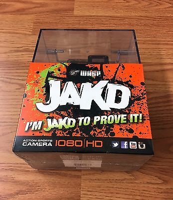 Waspcam Jakd Helmet Action Sports HD Camera 1080p W70 9903