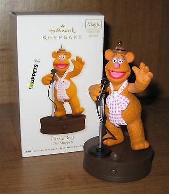 Hallmark 2012 Fozzie Bear The Muppets Keepsake Ornament Magic MIB New
