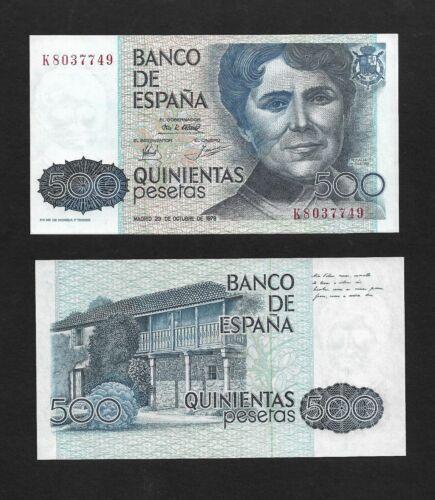 Spain p-157, UNC, 500 Pesetas, 1979