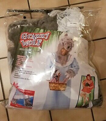 Granny Wolf (Granny Wolf Costume Adult Standard)