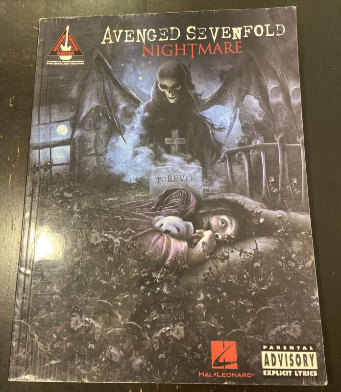 Avenged Sevenfold - Nightmare (2010, Guitar Tab/sheet Music)