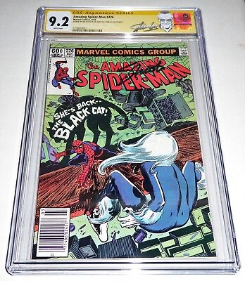 Amazing Spider-Man #226 CGC SS Dual Signature Autograph STAN LEE SHOOTER Black