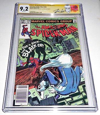 Amazing Spider-Man #226 CGC SS Dual Signature Autograph STAN LEE SHOOTER Black