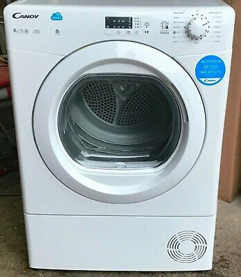 "Candy ""CSVC8LG"" Smart 8kg White Condenser Sensor Tumble Dryer  NEW  RRP £229"
