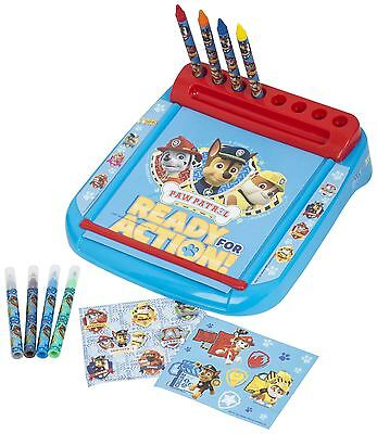 Paw Patrol Deluxe Roll & Go Drawing Marshall Rubble Chase Creative Art Case Desk
