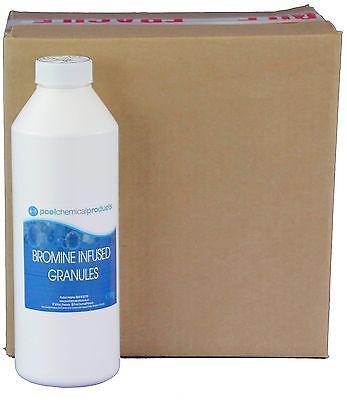 Box of 6 x 1kg Bromine Infused Granules Swimming pool Spa Hot Tub EB