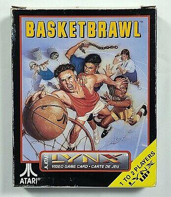Basketbrawl For Atari Lynx Handheld System  - Complete