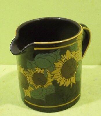 Kanne Sonnenblumen Dekor - Steinmann Keramik (Sonnenblumen-dekor)