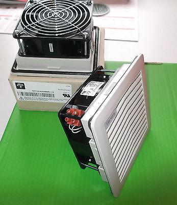 "Fan 110 Volts AC + Filter Large 10"" 250mm IP54 Grey FANDIS FPF15KPR115BE x 1 Set"