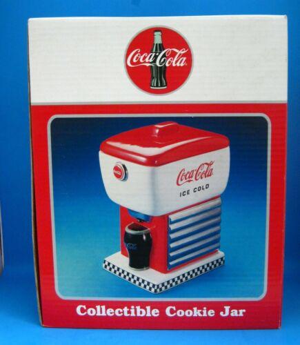 Cookie Jar - Coca-Cola SODA FOUNTAIN Ceramic NEW From Enesco 1997----New in Box