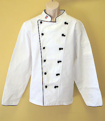 New Nfl Premium Chef Coats 100 Cotton Xxl Size Football Plain Chief Coat