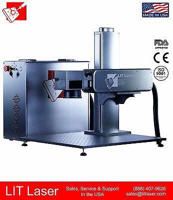 50w Q-switch Industrial Firearm Deep Engraving Cutting System
