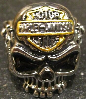 Harley Davidson Biker Ring Mens Size 14 (XXL)