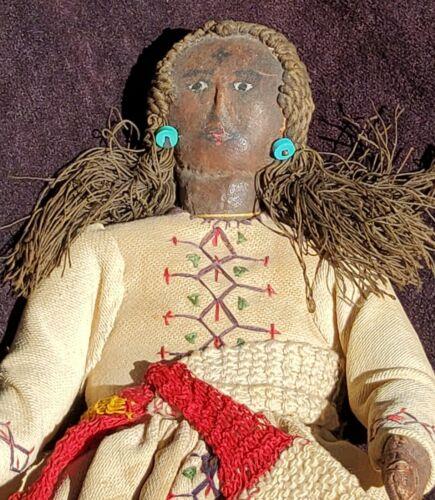 antique Indian Rag Doll Handmade India?  Read