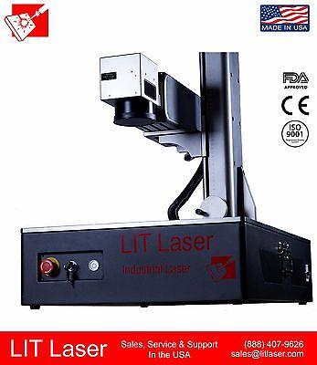 60w Mopa Industrial Fiber Laser 2.5d Deep Engraving