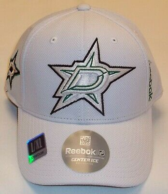NHL Dallas Stars Reebok's Center Ice Collection Flex Hat - Size L/XL - New Dallas Stars Hat
