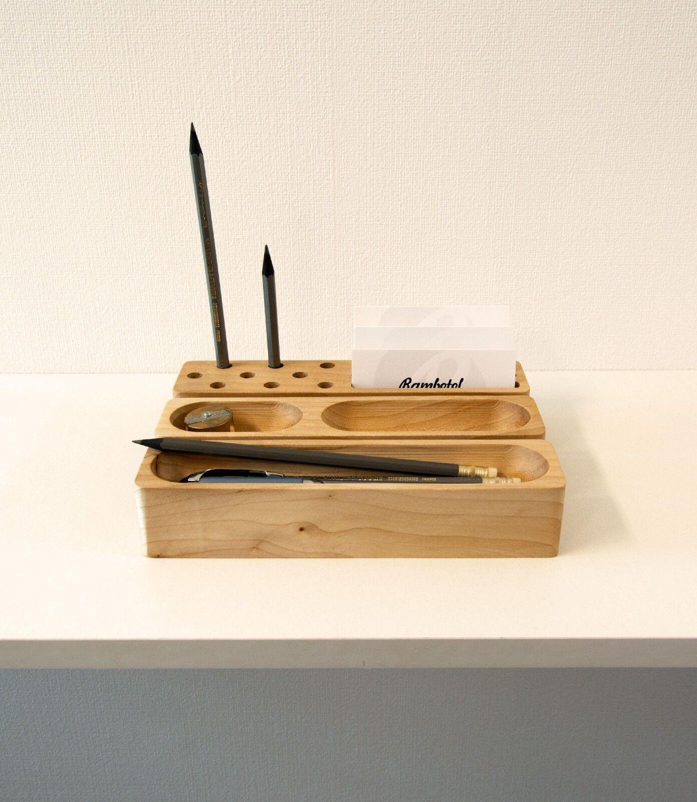 Handmade ash organizer Office Decor Wood Men Gift Office Des