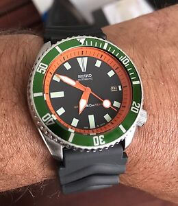 Seiko 7002 mod divers watch *one of a kind*
