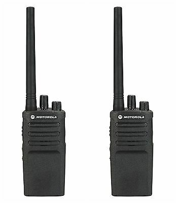 2 Motorola Rmv2080 Vhf Business Two-way Radios. Buy 6 Get One Free