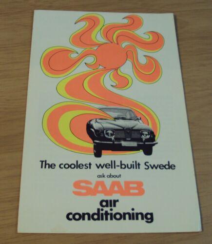 Circa 1970 Swedish SAAB