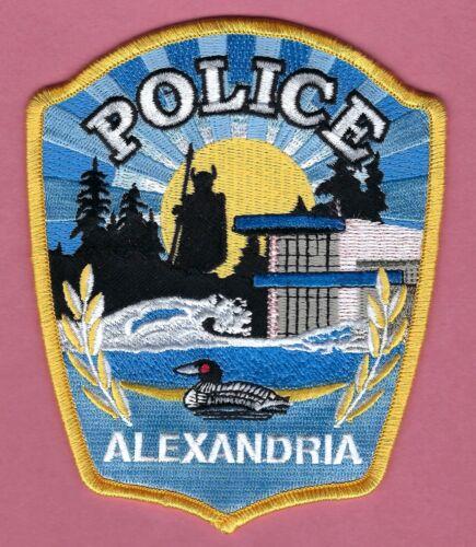 ALEXANDRIA MINNESOTA POLICE SHOULDER PATCH