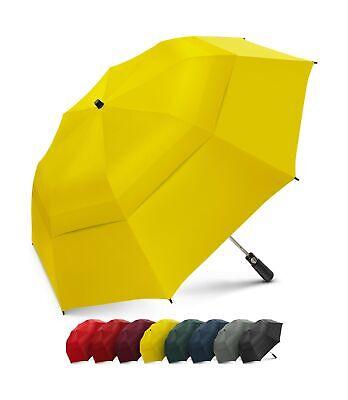 EEZ-Y 58 Inch Portable Golf Umbrella Large Windproof Double