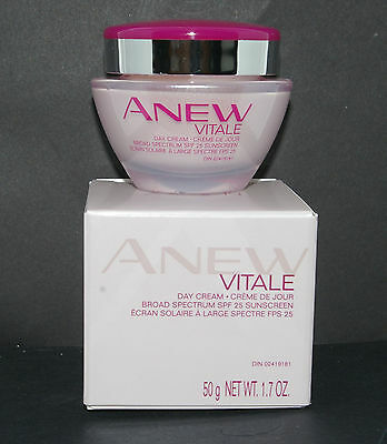 AVON Anew Vitale 2pc Day Cream SPF 25, Night Cream  Full siz