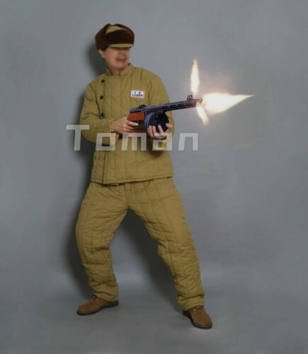 replica korea war chinese  soldier  winter cotton-padded uniform (1950~1953)