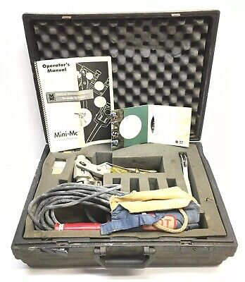 Mcelroy Mini-mc Pipe Fusion Machine Kit With Heater