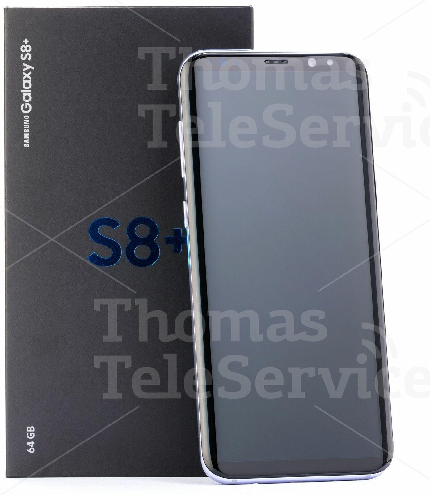 Samsung Galaxy S8 Plus G955f Black Schwarz Smartphone Handy Android HD Neu OVP