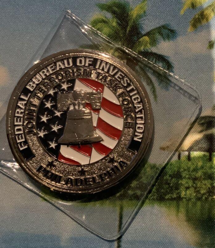 Philadelphia Pennsylvania Joint Terrorism Task Force Challenge Coin